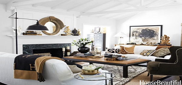 ONE OF OUR MOST POPULAR ARTICLES OF 2014: How To Decorate Your Living Room By House Beautiful hbx white sofas bhargava 1213 de