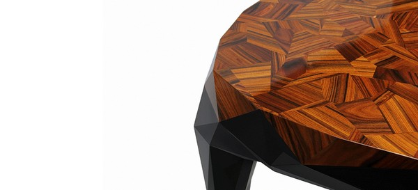 The most exclusive rectangular tables collection you must see royal dining table contemporary marquetry 03