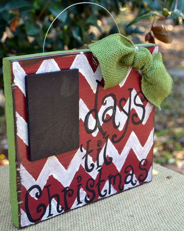 5 Ideas to Decorate for Holidays chalkboard