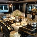 Top 10 luxury dining table to be odsessed Mondo Marine yacht Alexander Again Luxurious dining table Photo Alessio Baleri 120x120
