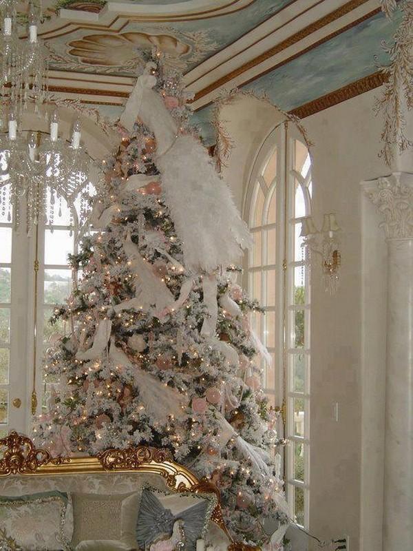 10 Beautifull living room Christmas decoration ideas f58d876e2091122d63378258f4d36893