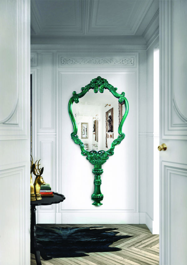 MAKE SMALL SPACES BIG WITH MIRRORS MAKE SMALL SPACES BIG WITH MIRRORS 6