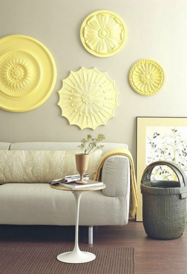Don't miss beautifull living room decor yellow ideas clipper 1324467683 Zachtgeel in de woonkamer