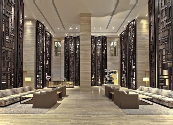 Retro Modern Lobby Decoration Interior Decoration