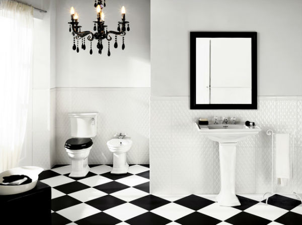 12 Black and White Bathrooms You Must See Black and White Bathrooms You Must See 2