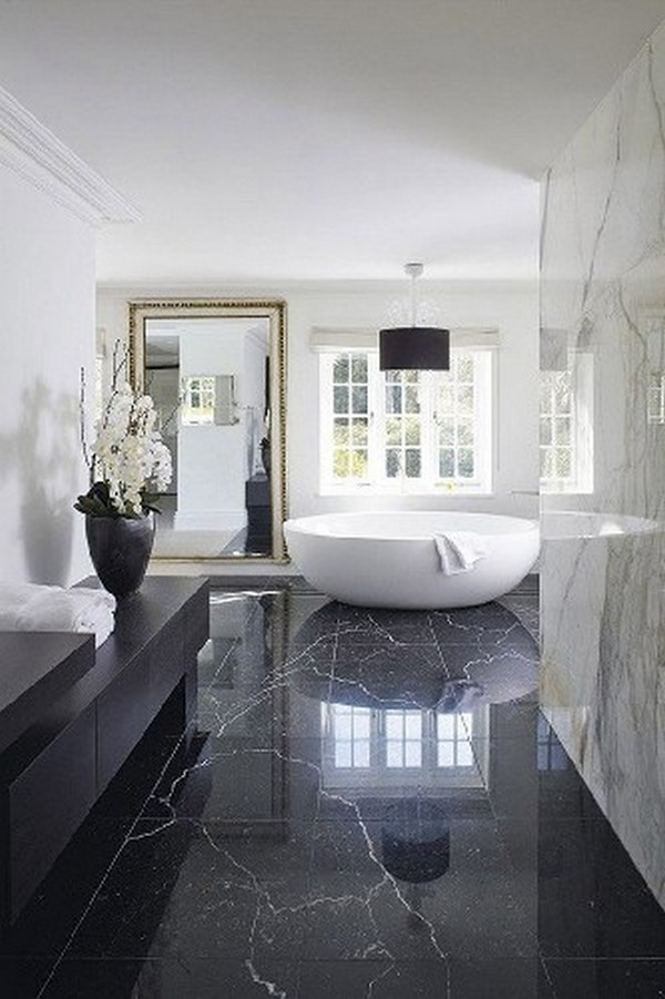 10 BLACK LUXURY BATHROOM DECOR IDEAS Heartcover 3