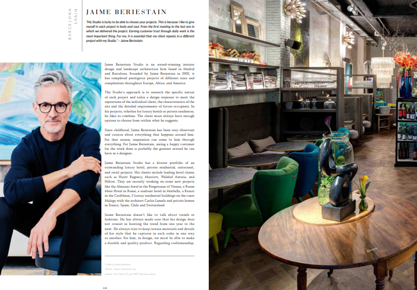 Ebook: Jaime Beriestain download Download The Magnificent '100 Inspiring Designers & Architects Ebook' for FREE! top100beriestain