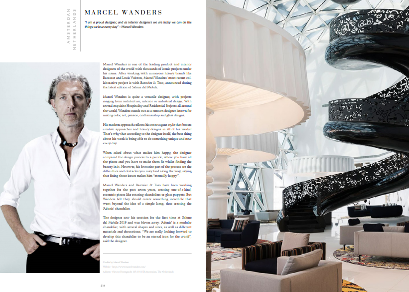 Ebook: Marcel Wanders download Download The Magnificent '100 Inspiring Designers & Architects Ebook' for FREE! top100wanders