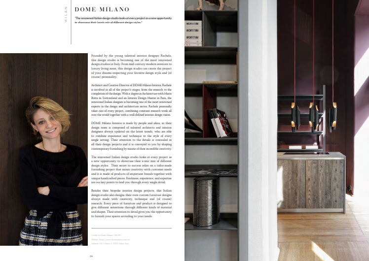 Free Ebook – Discover The Best Interior Designers of Milan 5 free Free Ebook – Discover The Best Interior Designers of Milan dome milano